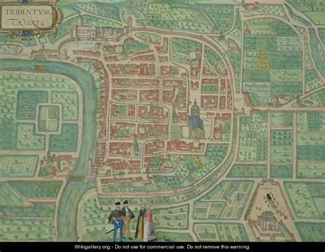 copyright free maps for commercial use map of trento from civitates orbis terrarum after