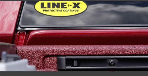 linex colors line x spray on bedliners kersey pa dinsmore welding