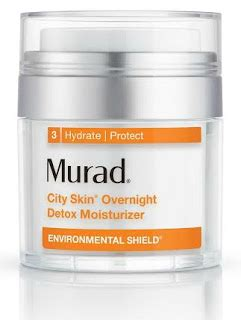 Murad City Skin Overnight Detox Moisturizer Reviews by Chic Luxuries Things We Re Loving