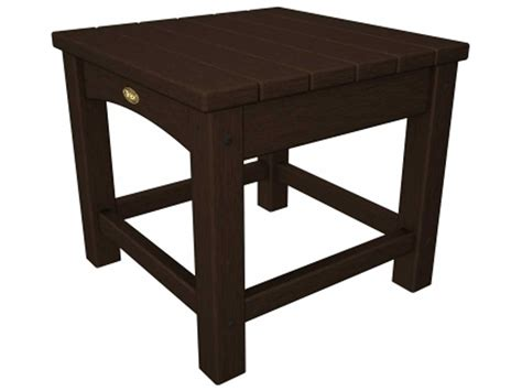 Plastic Side Table Trex 174 Rockport Recycled Plastic Club 18 Square Side Table Txt1818