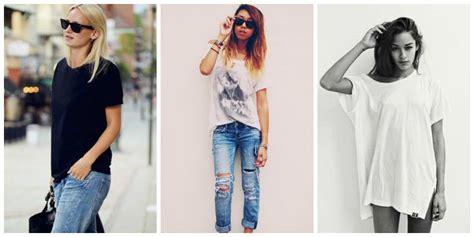 Fashion Advice How To Dress Like A Rock The Budget Fashionista by How To Style Oversized Boyfriend T Shirts 2018