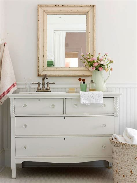 Shabby Chic Bathroom Vanity by Shabby Chic Bathroom Cottage Bathroom