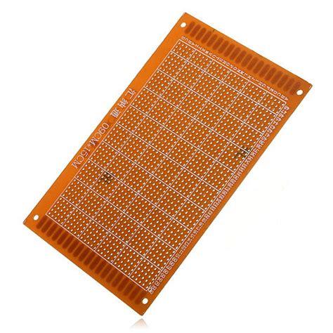 breadboard circuit board 1 pc 9 x 15cm pcb prototyping printed circuit board breadboard prototype alex nld
