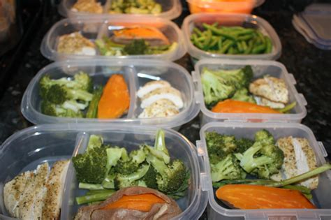 fit healthy mommy batch meal prep clean eating