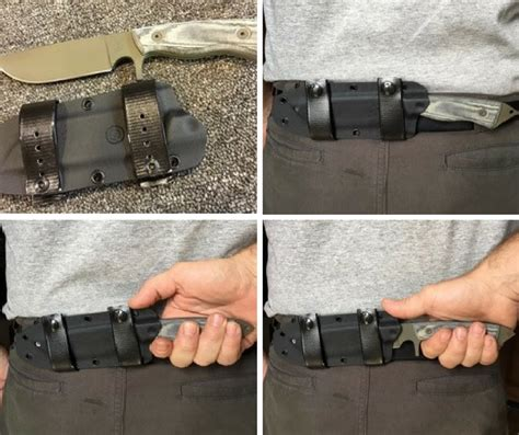 tactical belt knife knives eaton tactical innovations knives holsters