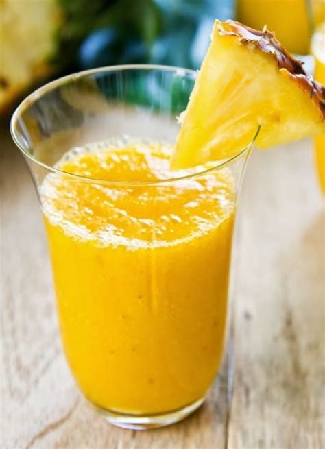 Pineapple Banana Detox Smoothie by Top 25 Ideas About How To Make Fruit Smoothies On