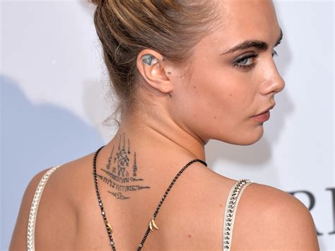 cara delevingne tattoo ideas new app ink lets you try on