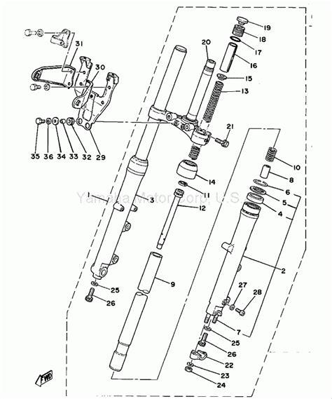 Motorrad Gabel Bestandteile by Das Bucheli Projekt Sr500 Telegabel