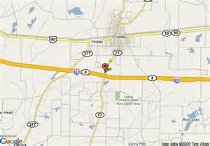 map of inn express chipley chipley