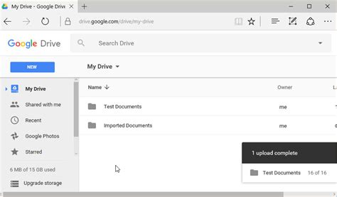 drive upload how to import and export documents in google drive