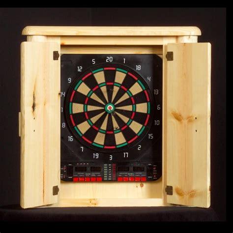 Cabinet Dartboard by Log Dartboard Cabinet