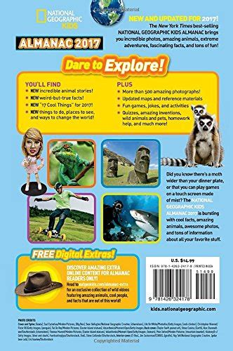 national geographic kids almanac 1426324170 free 2 day shipping national geographic kids almanac 2017 paperback 1426324170 ebay
