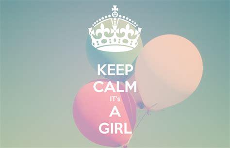 imagenes de keep calm its a girl keep calm it s a girl poster r yusufi keep calm o matic