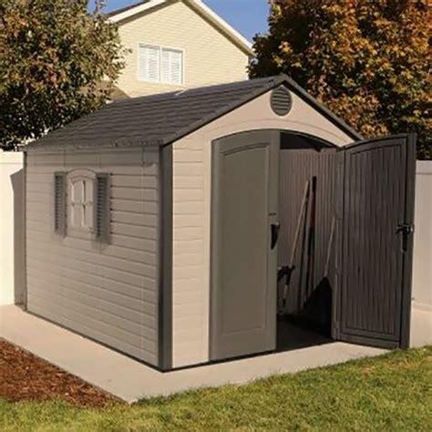 special edition lifetime plastic shed    elbec