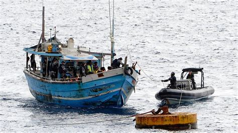 asylum boat capsized more asylum seeker boats have been intercepted in
