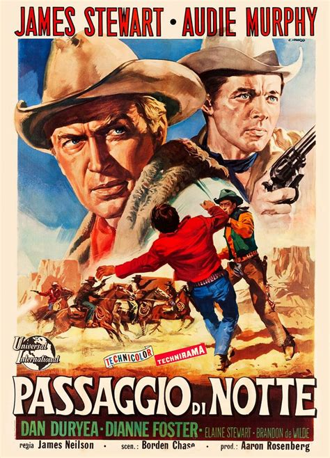 film cowboy italia night passage universal international 1957 original