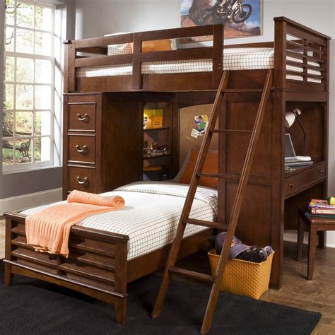 liberty furniture chelsea square twin loft  twin bed