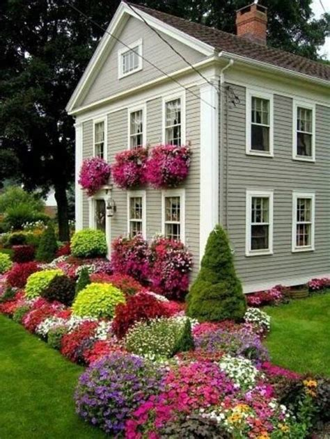 home flower 20 inspiring house exteriors and ideas for summer decorating with flowers