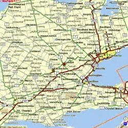 maps guelph ontario canada guelph ontario map