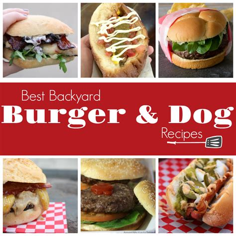 Backyard Burger Ingredients Best Backyard Burger Recipes Around My Family Table