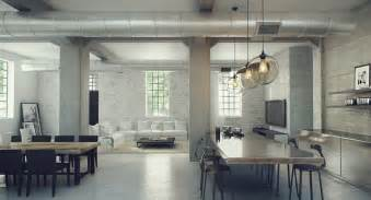 Loft Interior Design Ideas Industrial Lofts