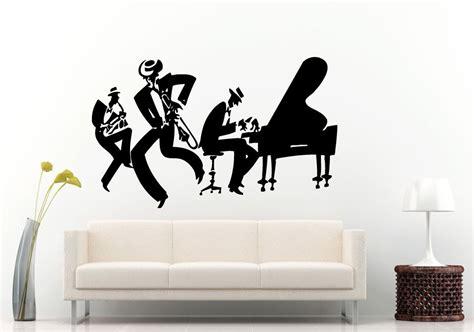 jazz group concert decal musicians wall decals home online get cheap jazz music poster aliexpress com