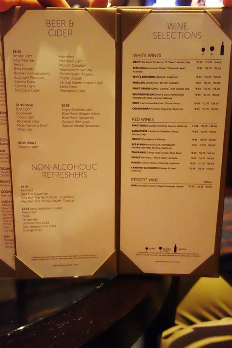 bar menu norwegian escape bars a complete guide eatsleepcruise com