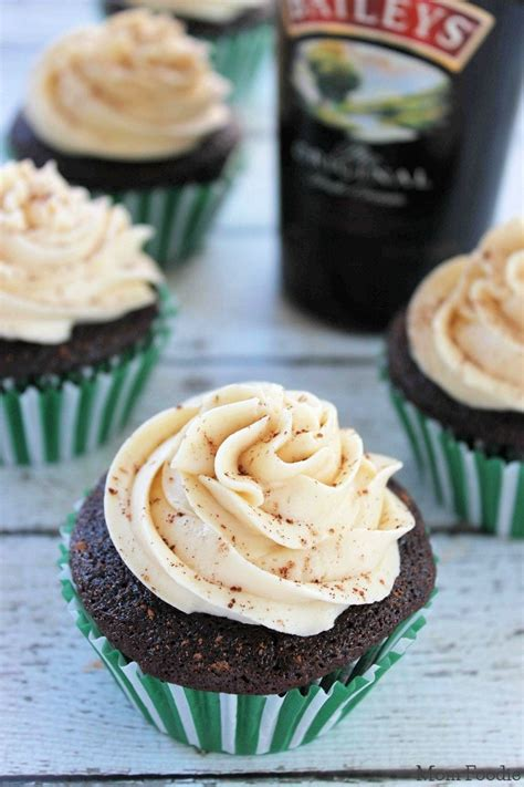 day dessert recipes chocolate guinness cupcakes with bailey s frosting st