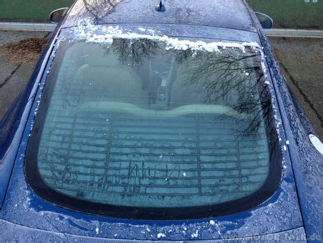Feuchtigkeit Im Auto Gefriert audi tt 8j 3 2 heckscheibe gefriert innen audi tt 8j