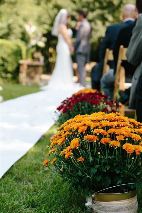 {Intimate & Colorful} Early Fall Wedding   Early fall