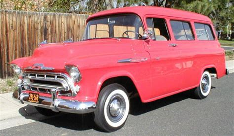 1957 Chevy Suburban By 1957 chevrolet suburban jim truck parts
