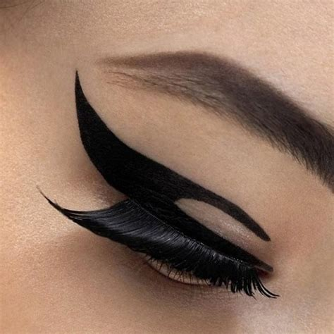 winged eyeliner tattoo eye stickers winged eye liner tattoos shadow makeup