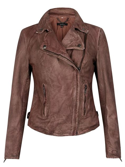 muubaa leather jackets muubaa monteria leather biker jacket in burnet