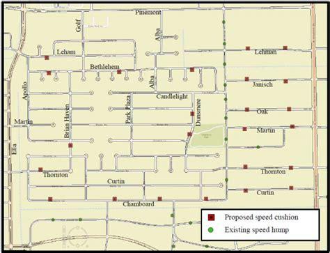 houston gims map shepherd park plaza