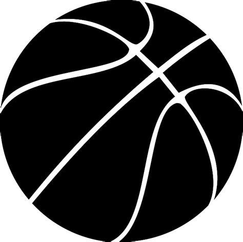 Ring Basket Besar gambar vektor gratis bola basket olahraga hitam