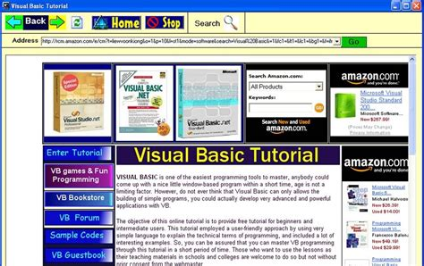 tutorial vb net website cara membuat web browser vb tutorial visual basic