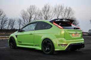 Green Ford Focus Ultimate Green Ford Focus Rs Flickr Photo