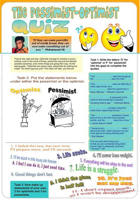 Printable Personality Quiz