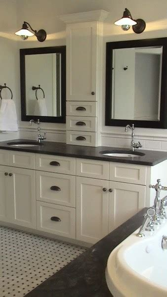 Master Bathroom Mirror Ideas Master Bathroom Vanity Cabinet Idea Traditional Bathroom