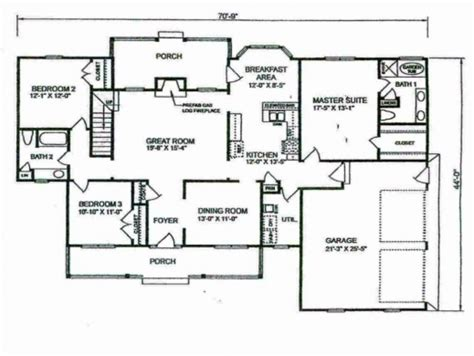 4 bedroom ranch house plans with basement stunning simple 4 bedroom house plans planskill four 4