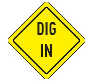 Dig Into The Food Construction Theme Party Sign Things I Did Pinterest Bobs Signs Free Construction Sign Templates