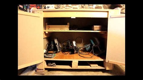 low cost tool cupboard repurposed pallets cheap cheerfull woodwork project armoire 224