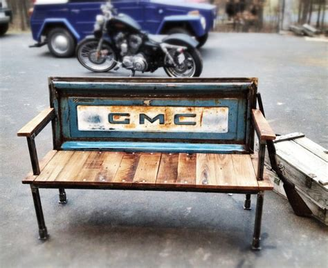 truck tailgate bench the original gmc blue collar tailgate bench vintage tailgates are available from gmc