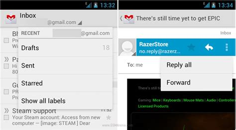 android layout drop down menu google replace the menu button to action bar instead