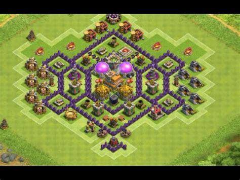 layout cv 7 farming youtube clash of clans layout cv 7 farm push ep 10 youtube