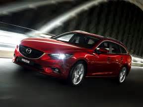 Madza Cars New Images Of The 2014 Mazda6 Station Wagon