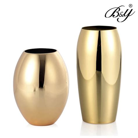Modern Vase And Gift by Modern Vase Gold Vase Wedding Gift New House Decoration