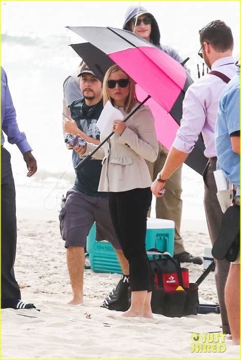 Dax Shepard Full Sized Photo Of Kristen Bell House Of Cards Beach
