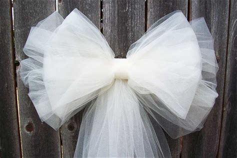 6 ideas for gorgeous tulle wedding decorations