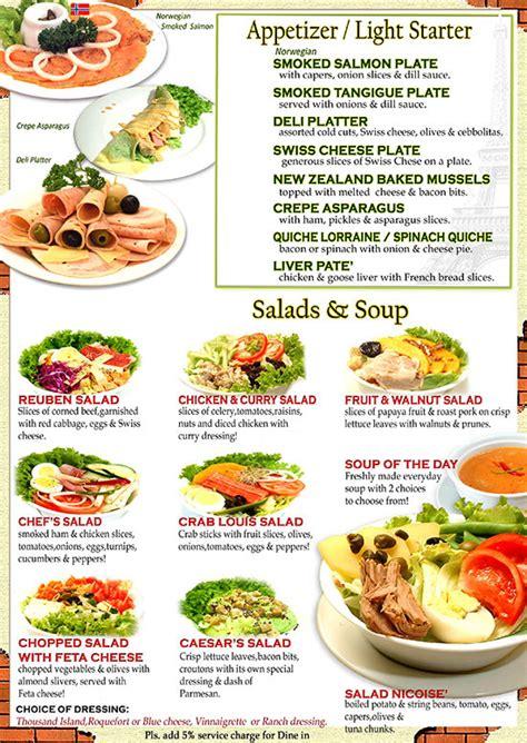 Recipe For Pasta Salad by Menu Almon Marina Sandwich Bar And Deli